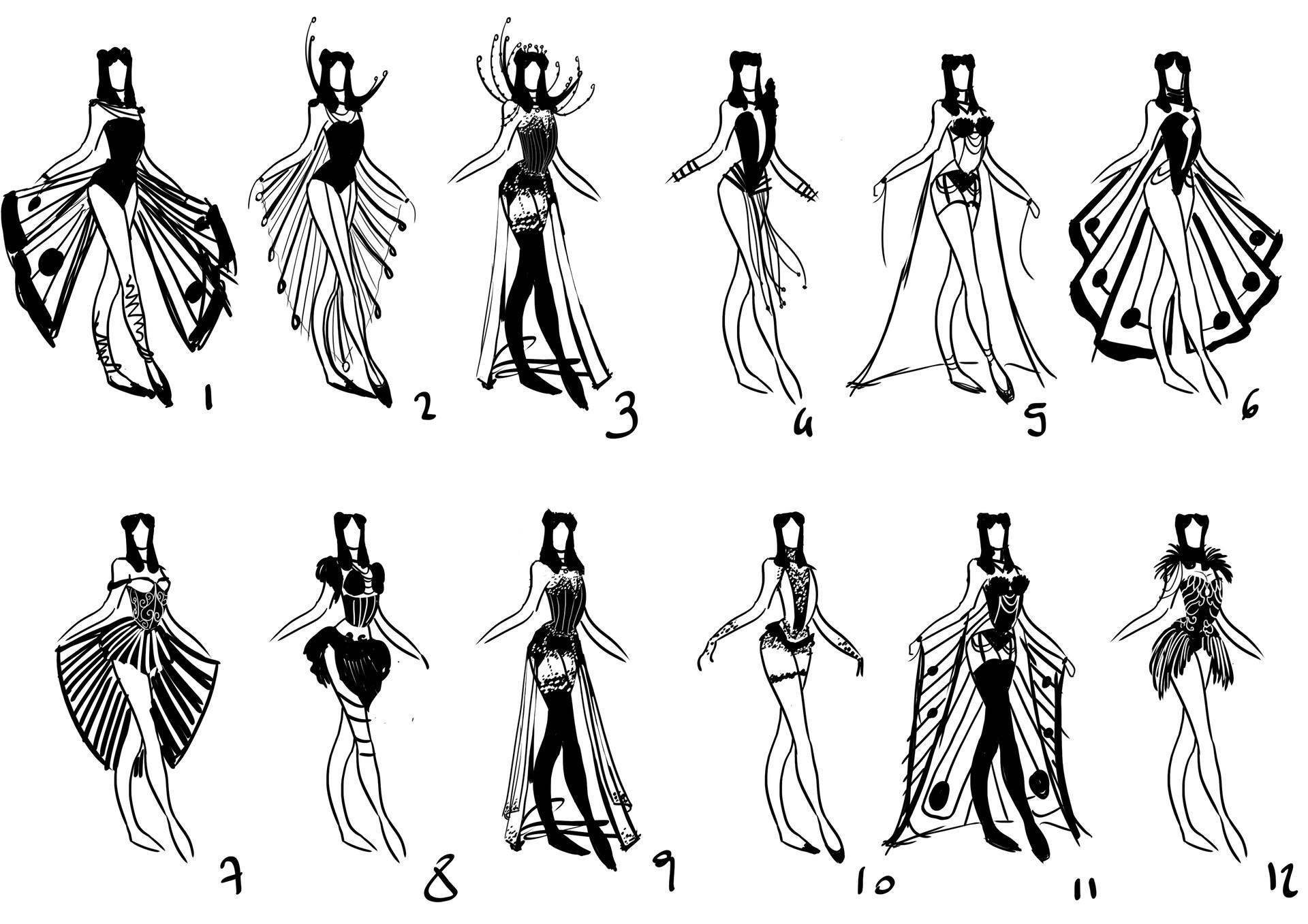 Elisa cella burlesque silhouette elisa cella