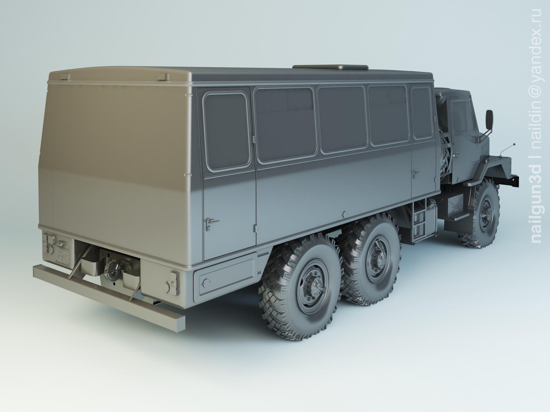 Nail khusnutdinov salg 002 002 ural 4322 modelling 1