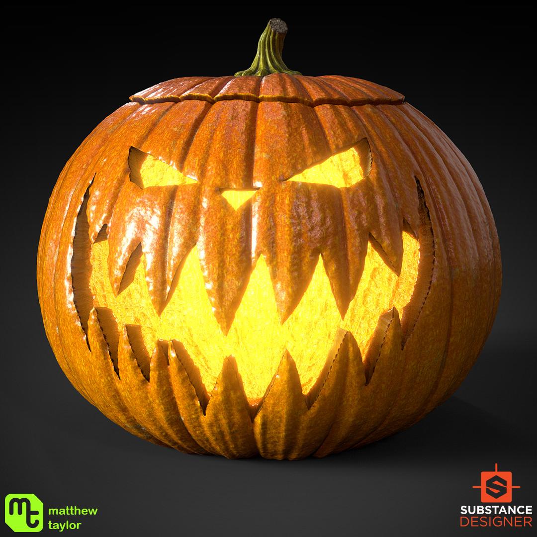 Pumpkin King design.