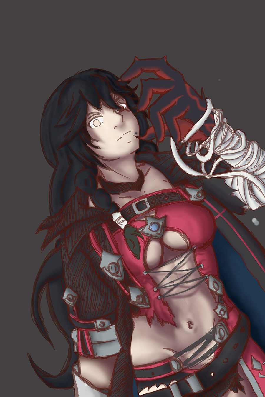 Scarlet Night Therion: Process #2