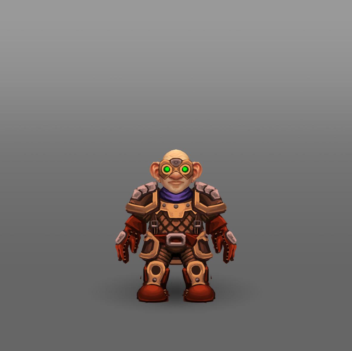 ArtStation - World of Warcraft - Racial Class Armor Design