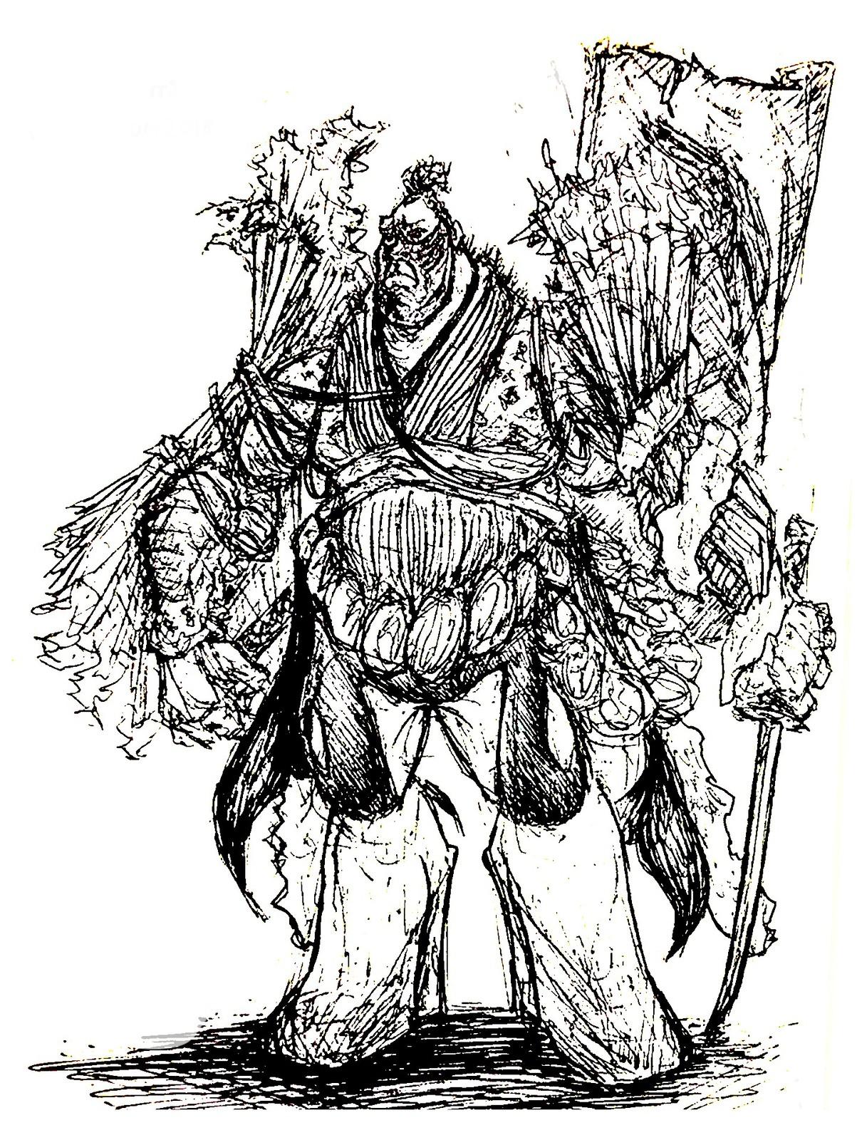 Shogun Ink Sketch
