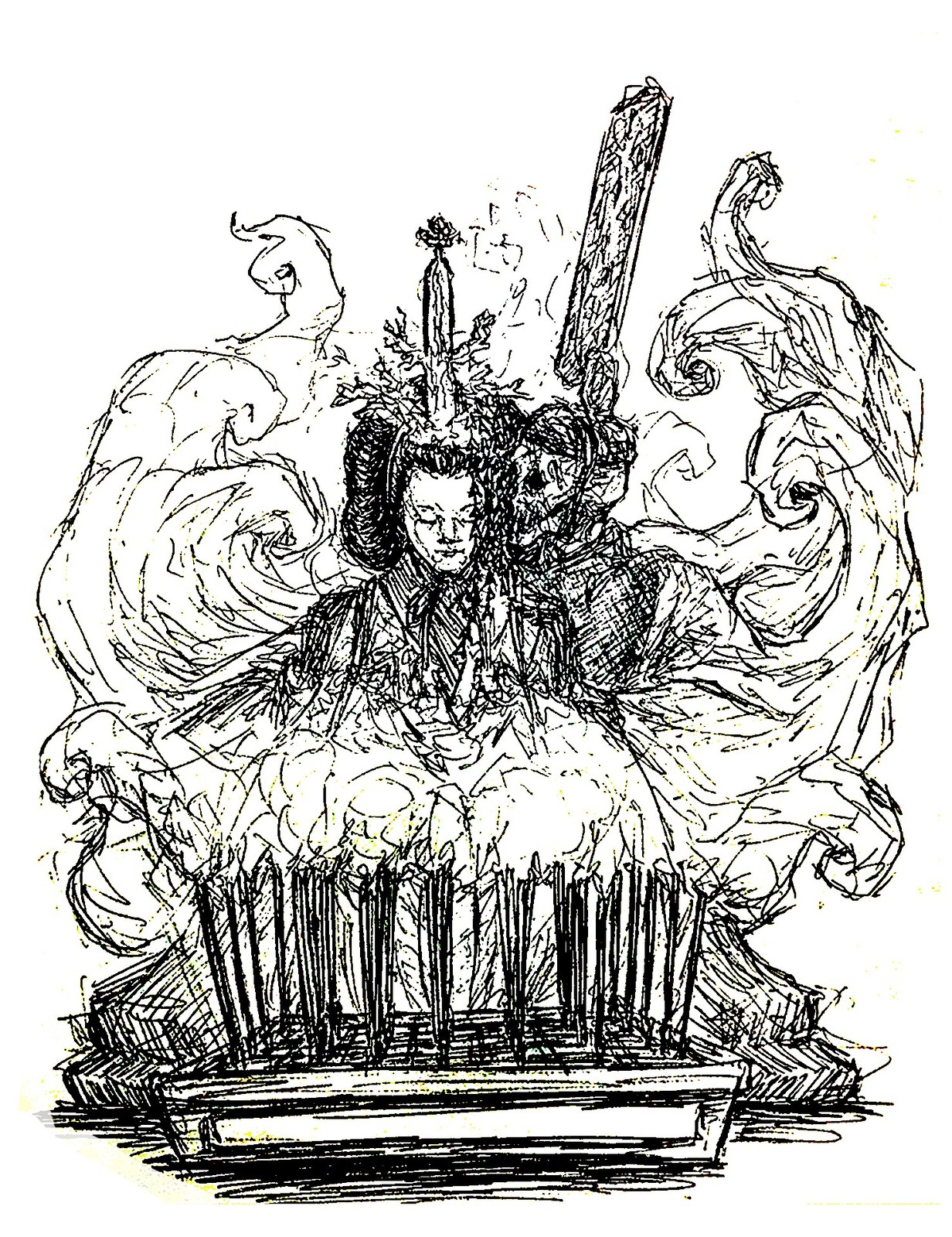 Empress  Ink Sketch