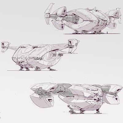 Michal kus ivd transport spaceship explorations