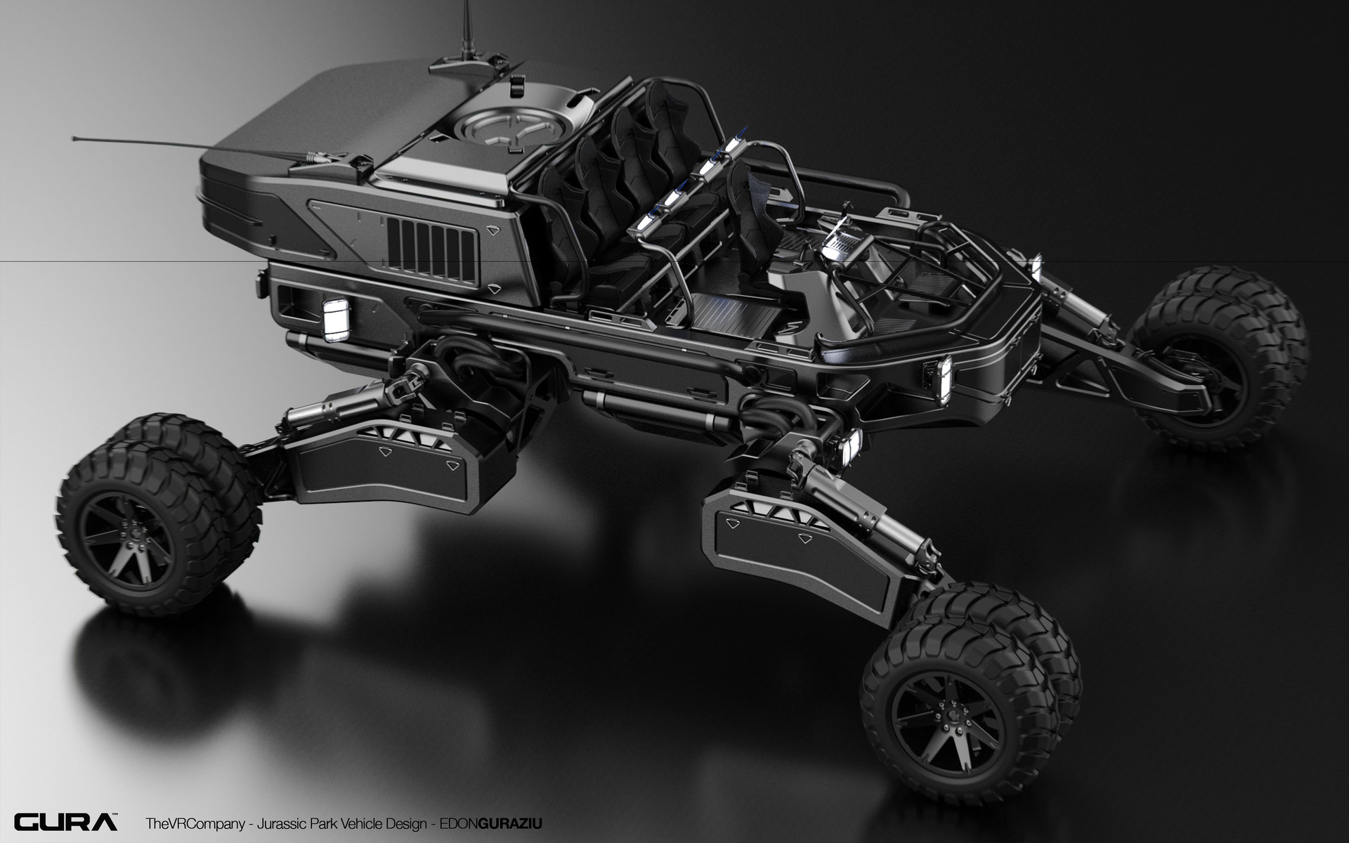 Edon guraziu vr vehicle design black 02