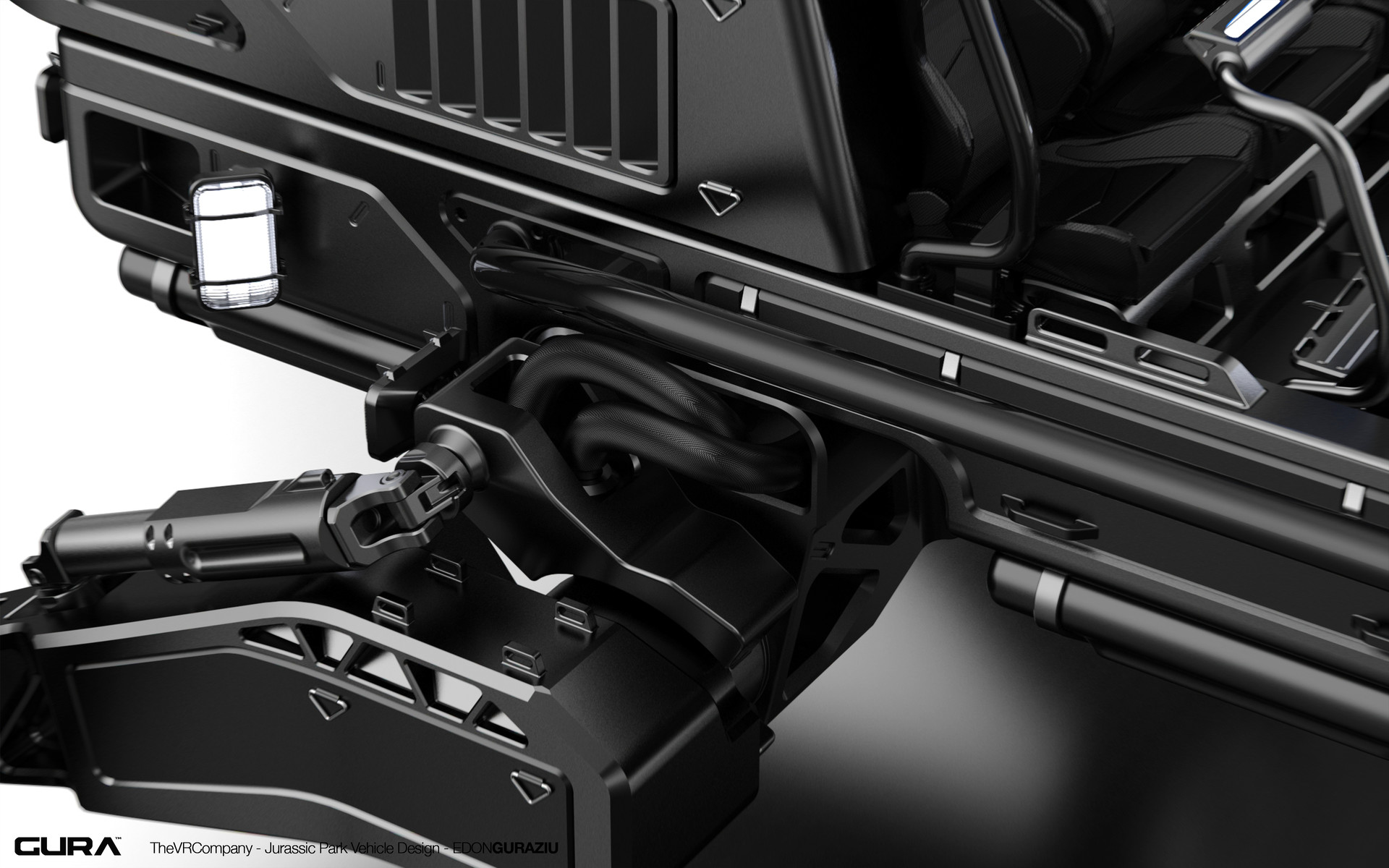 Edon guraziu vr vehicle design black 01