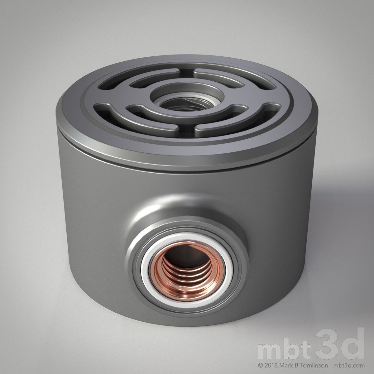Box XIV: Hard surface Boolean MODO exercise