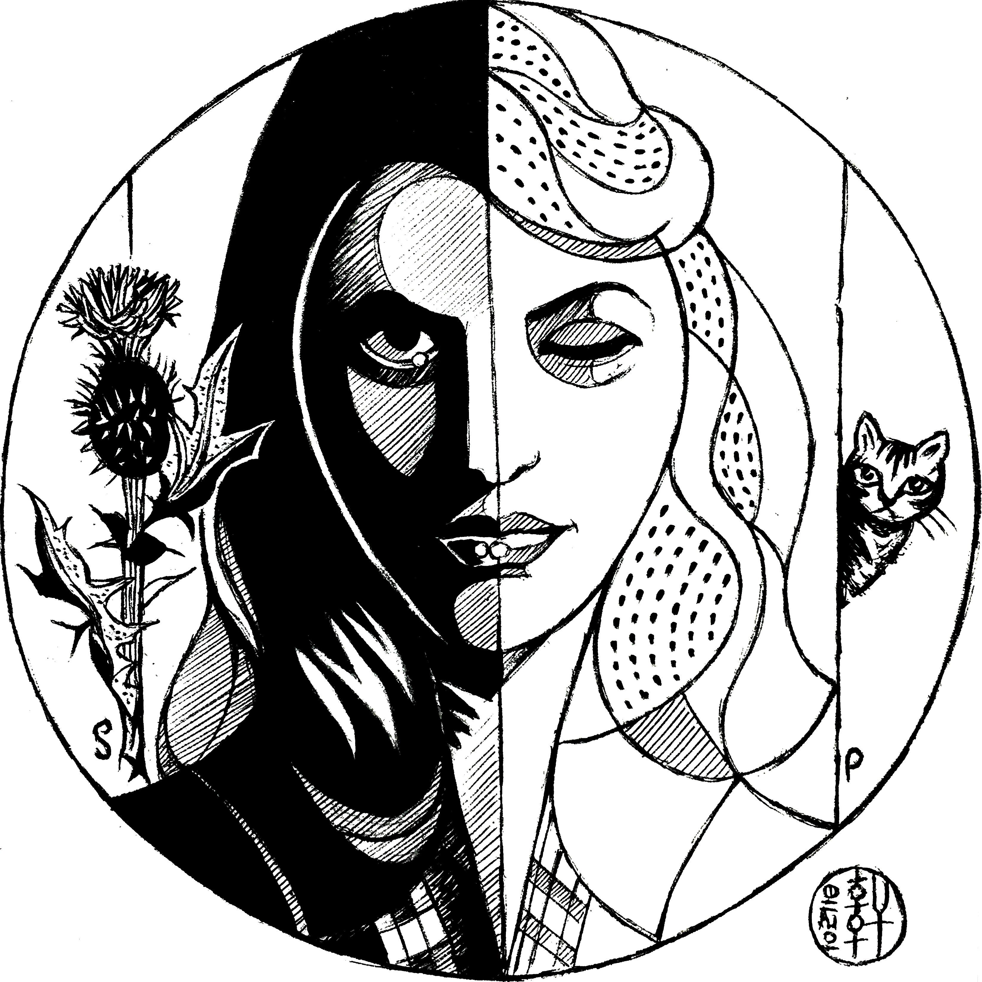 Sylvia Plath - Sketch