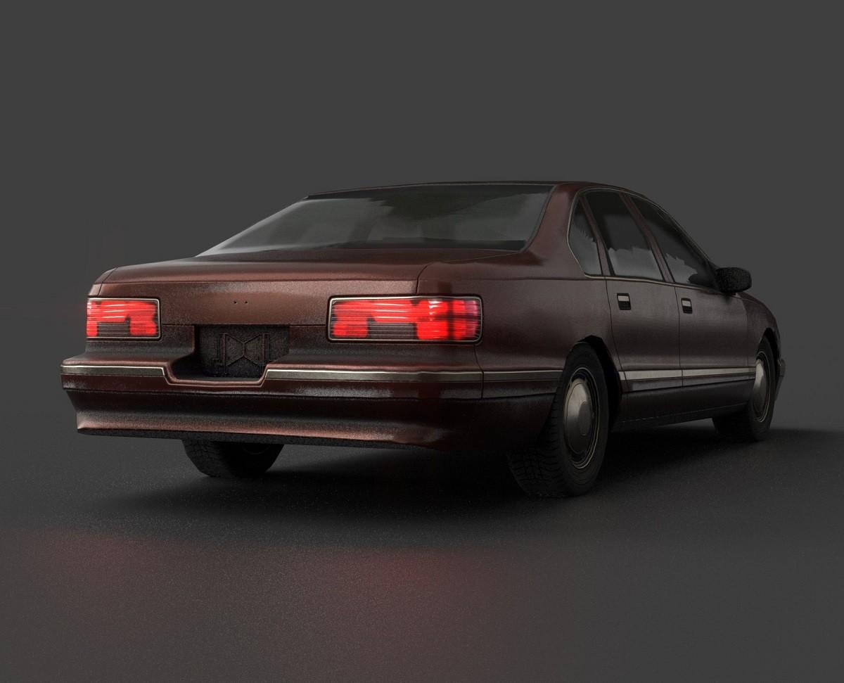 Jonathan Bogart 1993 Chevrolet Caprice