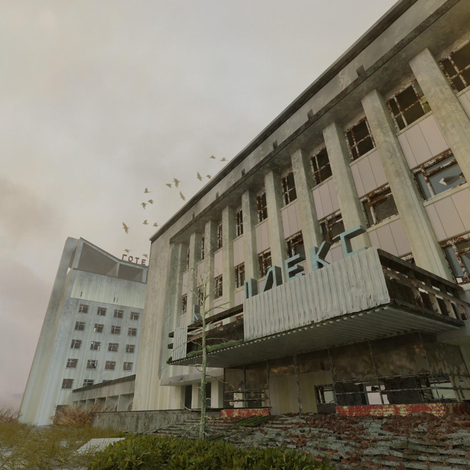 Polissya, Pripyat, Tjernobyl