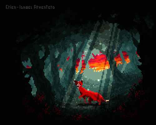 Pixel Illustration #12 + Animation