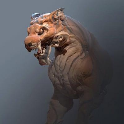 Tyler smith tiger 01 render