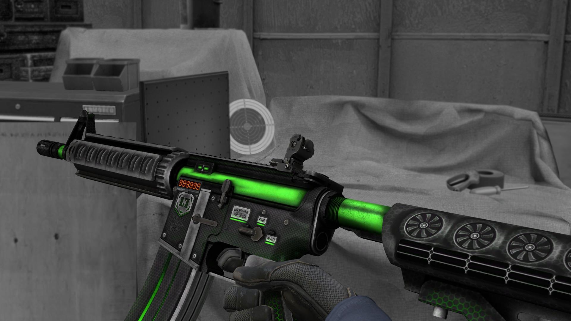 ArtStation - M4A4 Alien, Serhii Solomianiuk