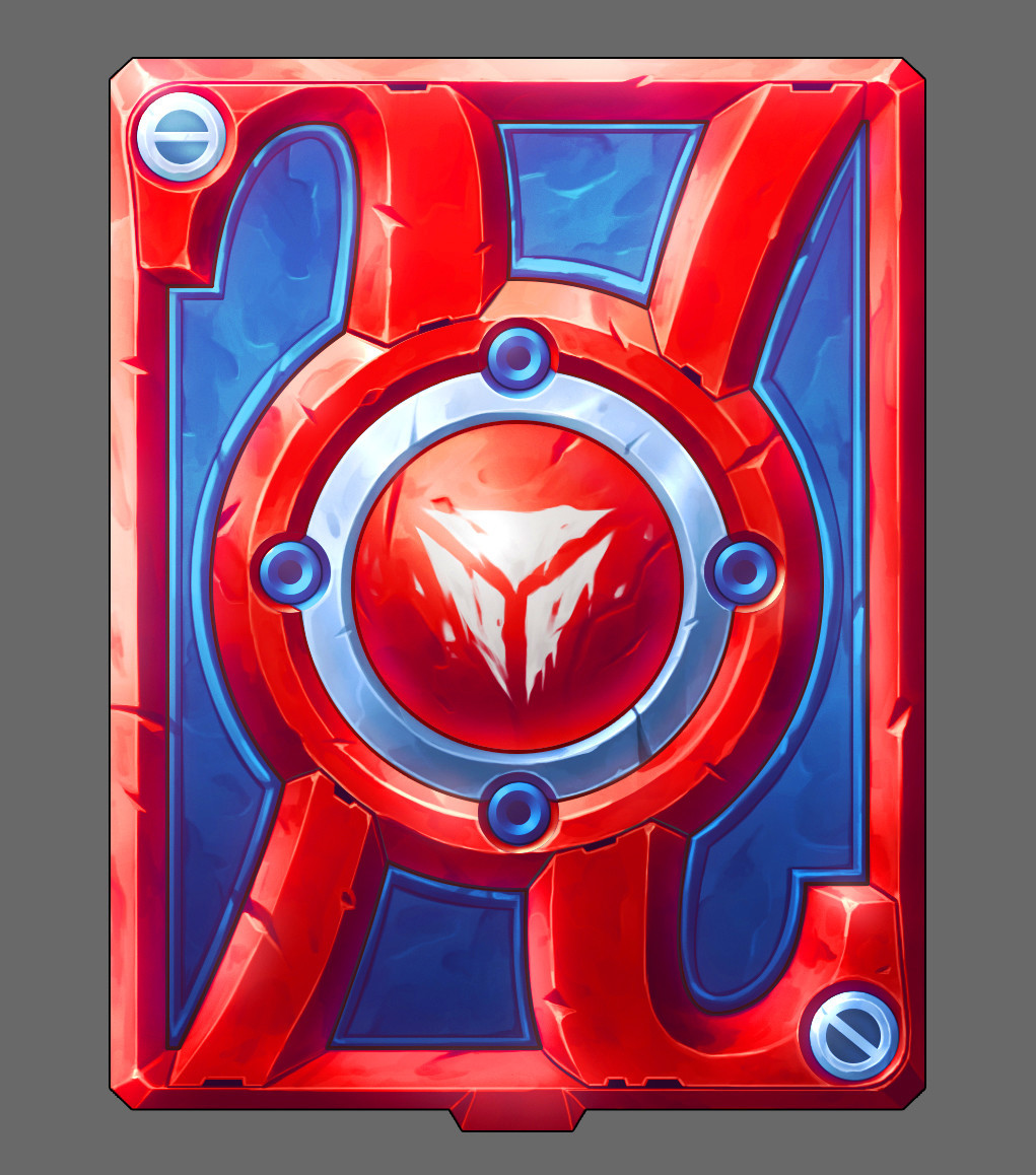 A cardback created for Humble Bundle. Players were able to claim it for free during the event.