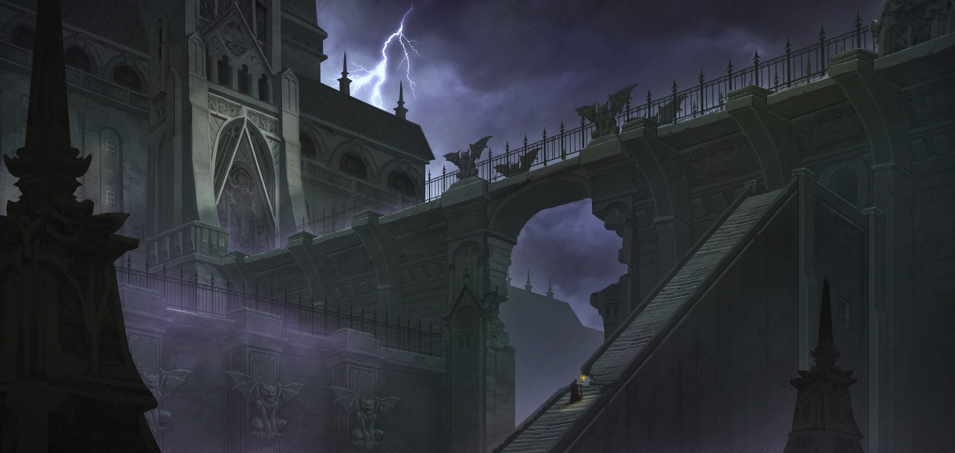 Danny huynh danny huynh illustration castle2