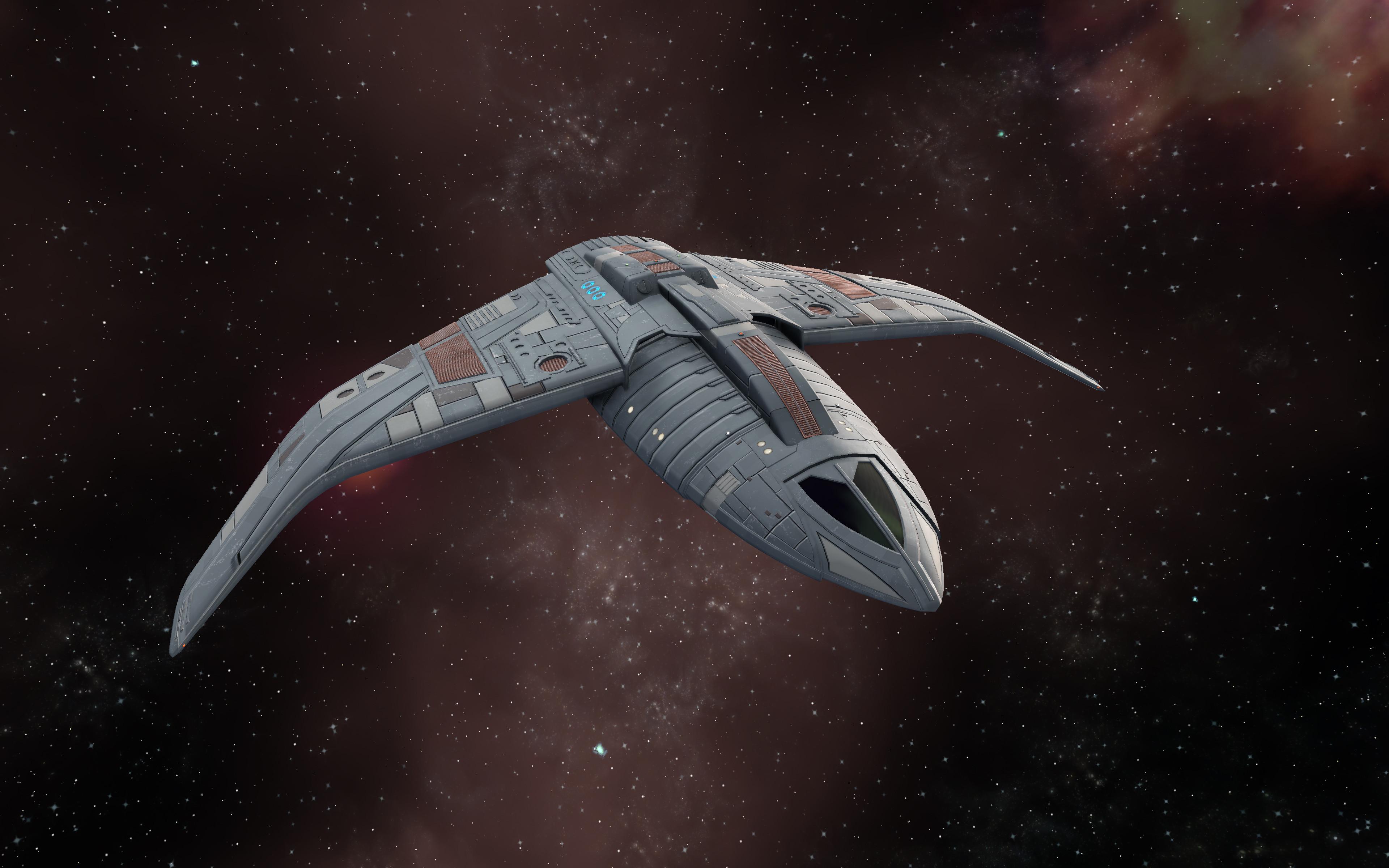 Star Trek Online in-game screenshot featuring alternate material.