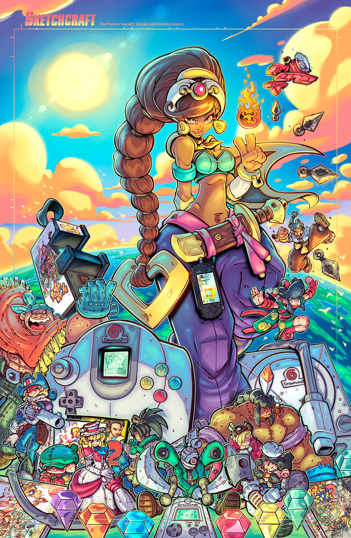 Megavisions Cover Art 06 - Power Stone