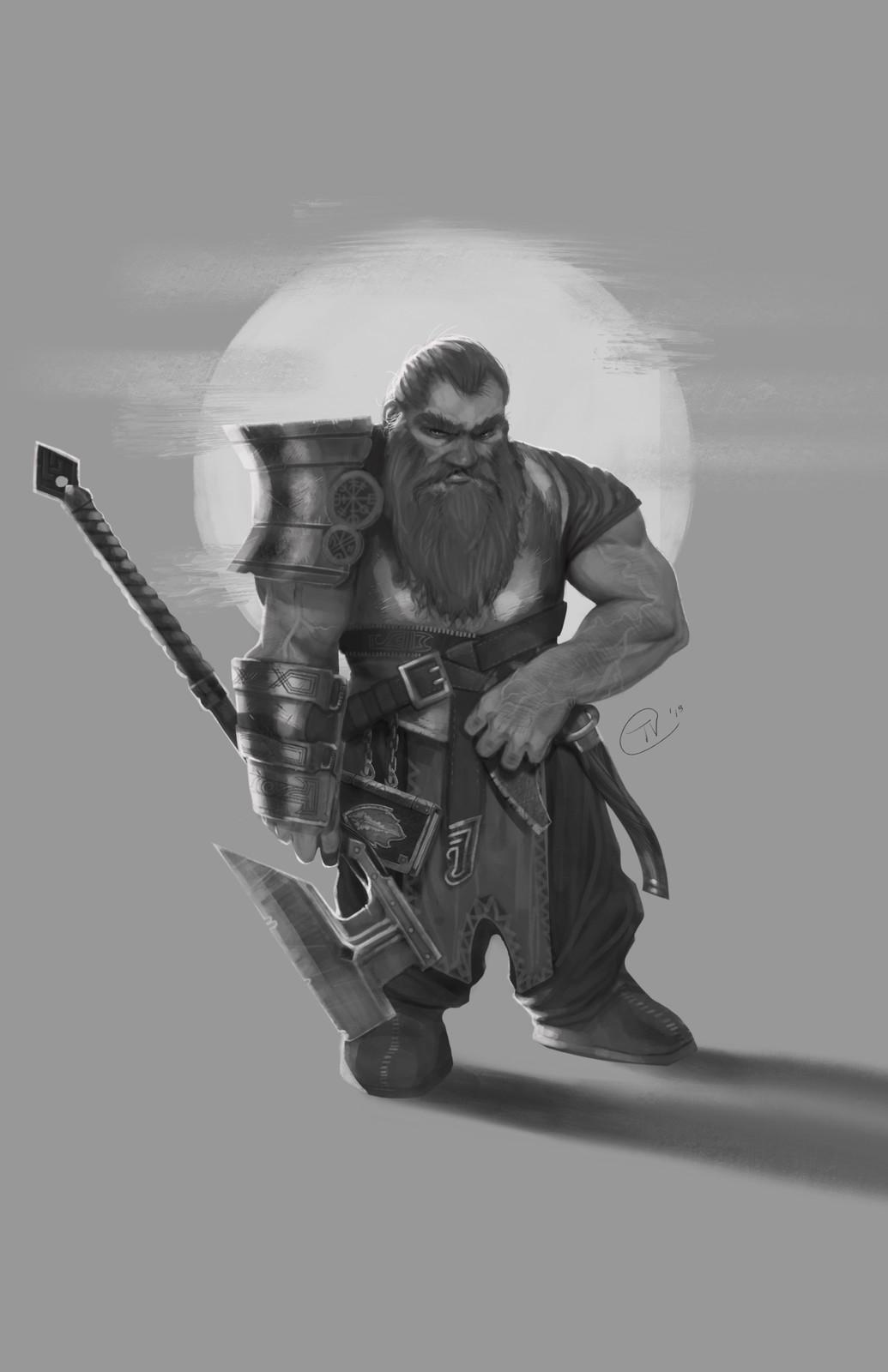 Dwarven Cleric