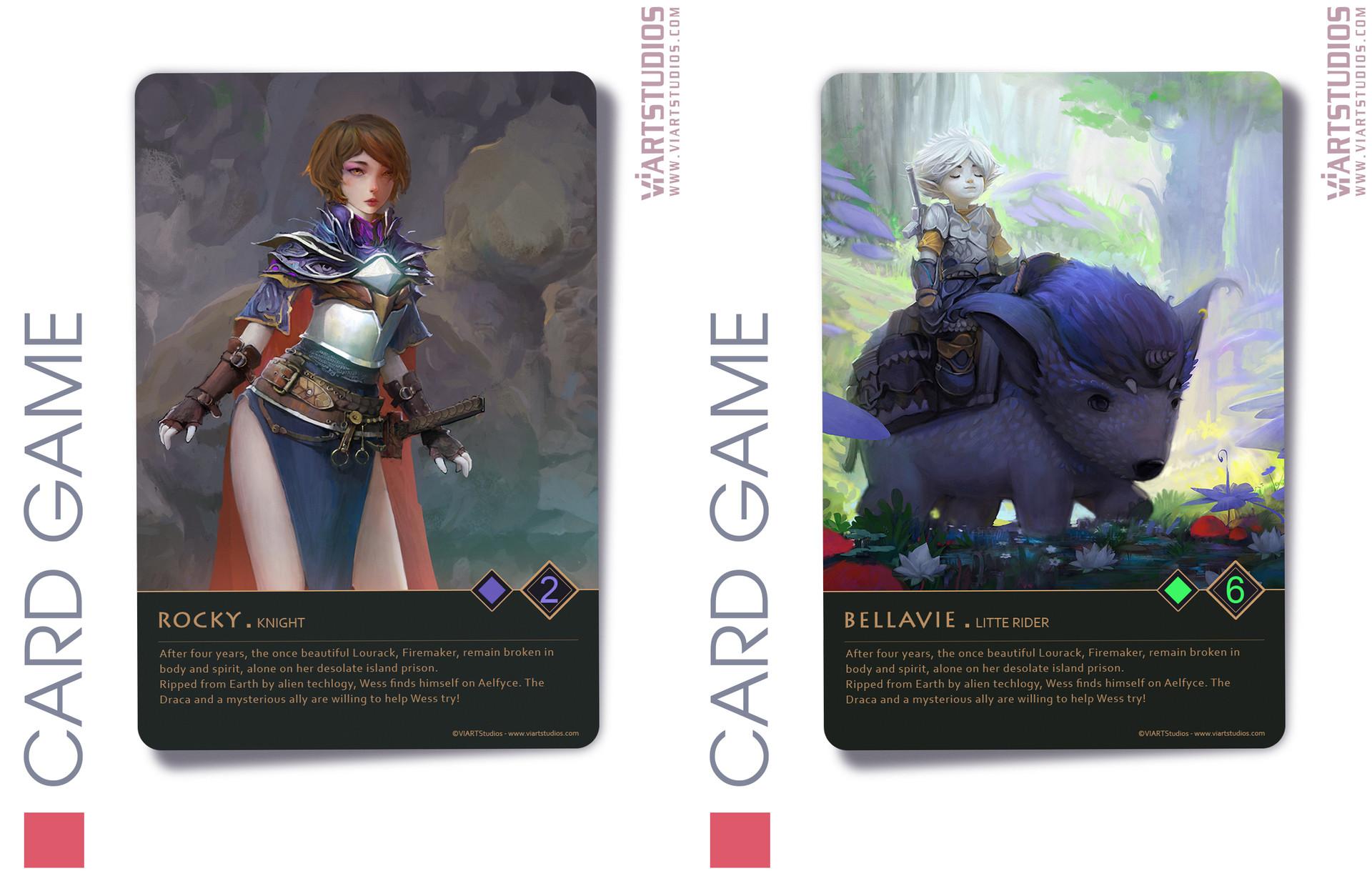 Viart studios cardgame4