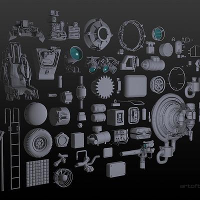 Ben harrison kit pieces