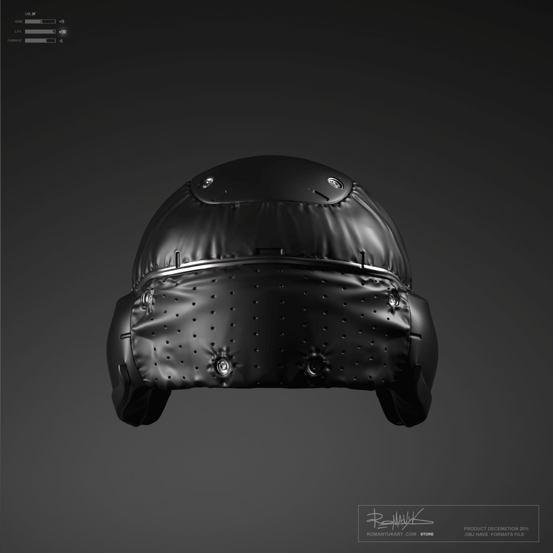 Yuriy romanyk helmets2