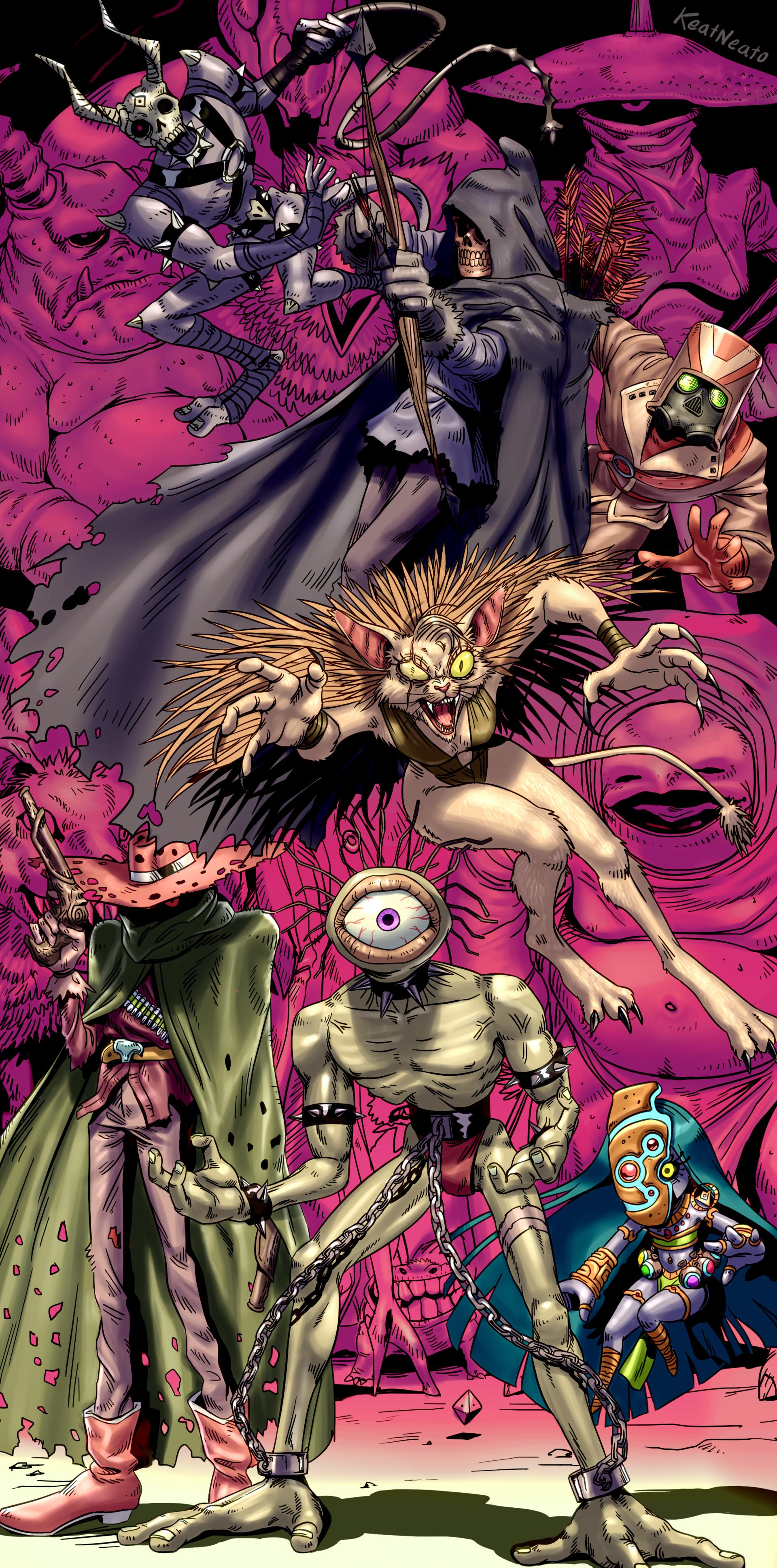 Steven galvan monsters