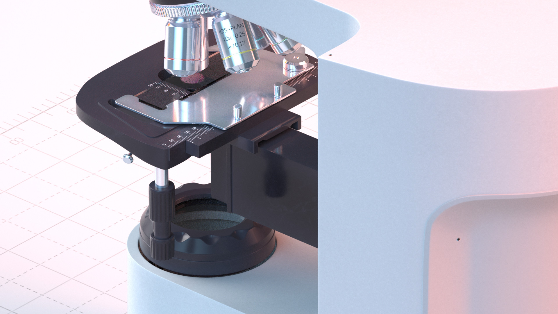 Basile arquis magicbulb upright microscope 04