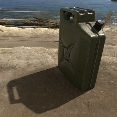 Jerry Can - Game Ready PBR