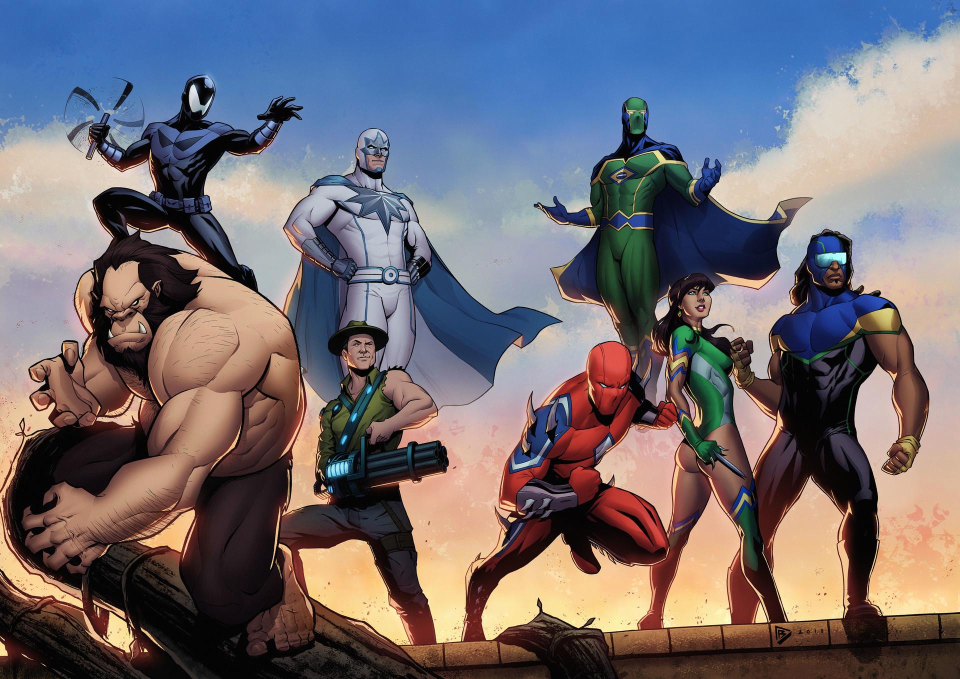 Картинки вымышленных супергероев
