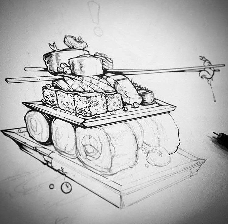 sushi tank
