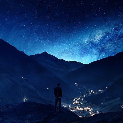Gene raz von edler surrounded by mountains by ellysiumn hd 1920