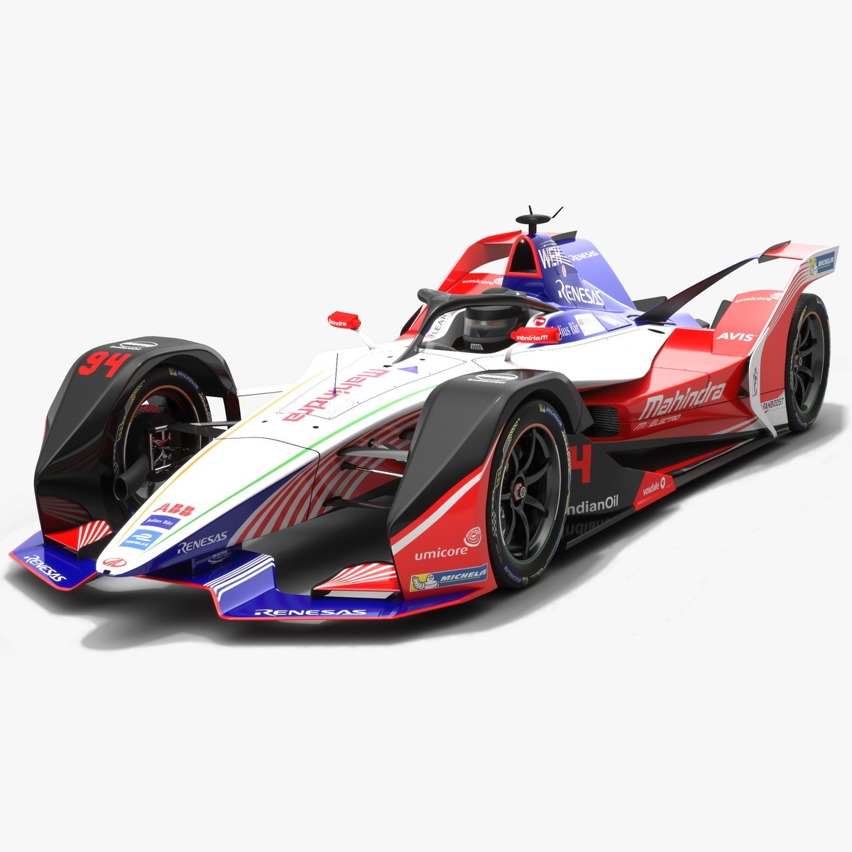 ArtStation - Mahindra Racing Formula E Team Season 2018 2019 3D