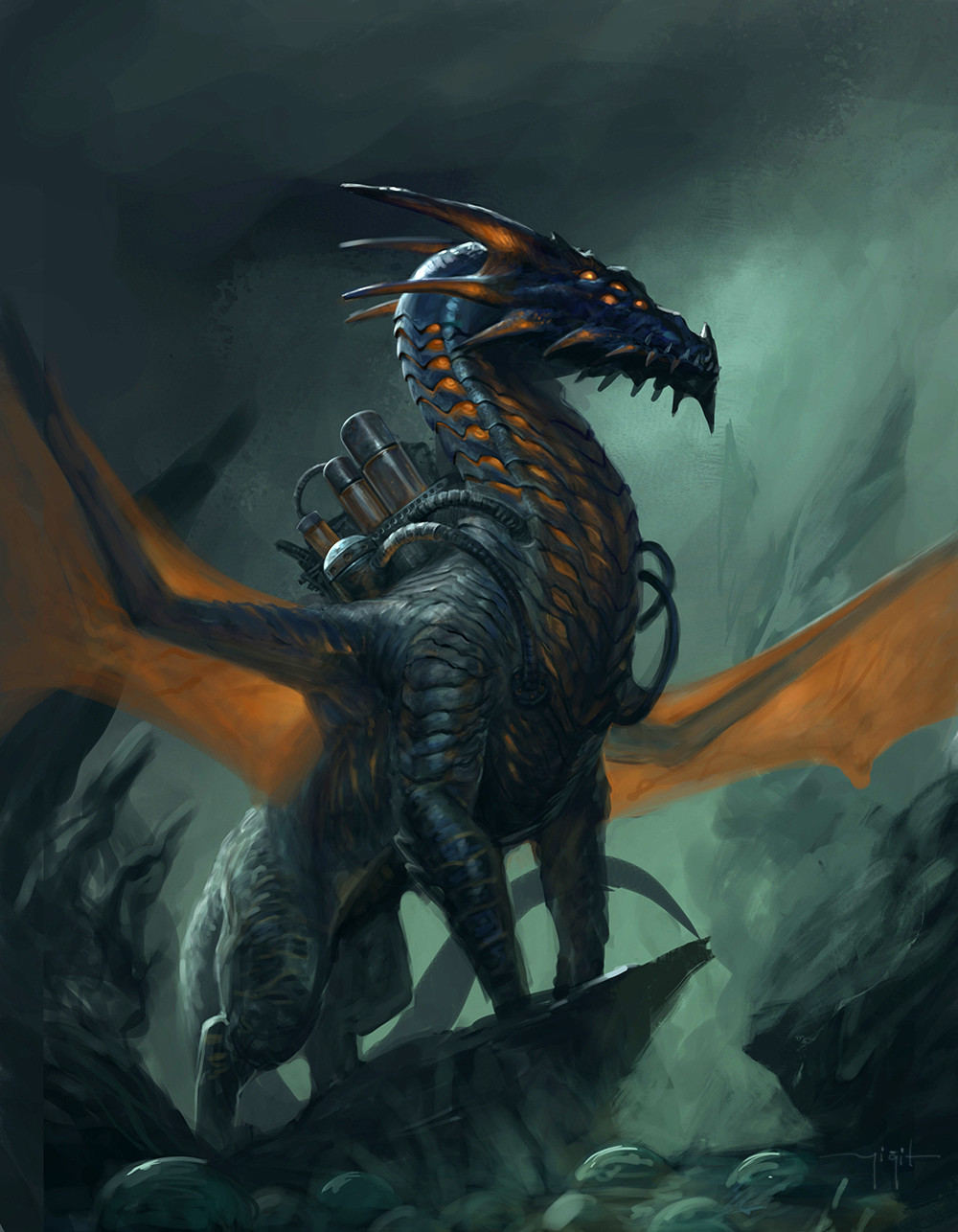 Yigit koroglu dragon of origins2