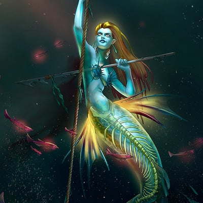 Collette curran ccurran mermaidghost