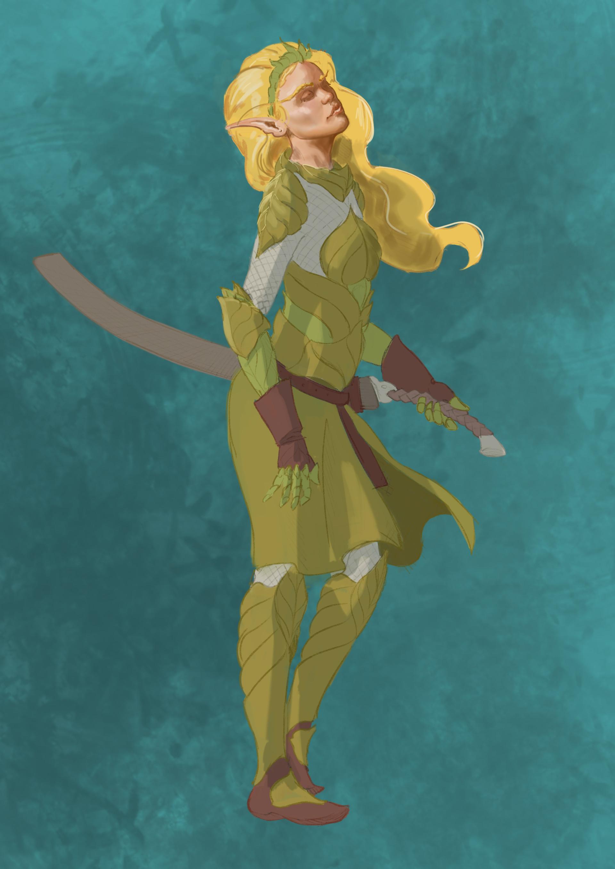 Arnesson art thomas hugo elf armor 3