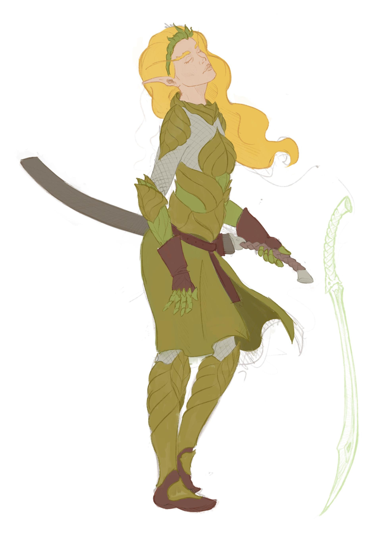 Arnesson art thomas hugo elf armor