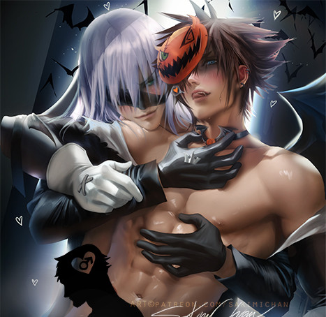 Sakimi chan kindgome hearts yaoi nsfw
