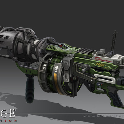 Bruce glidewell bruce glidewell grenade launcher