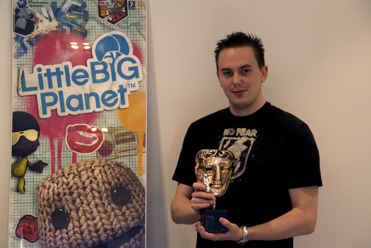 Me with our well deserved BAFTA.