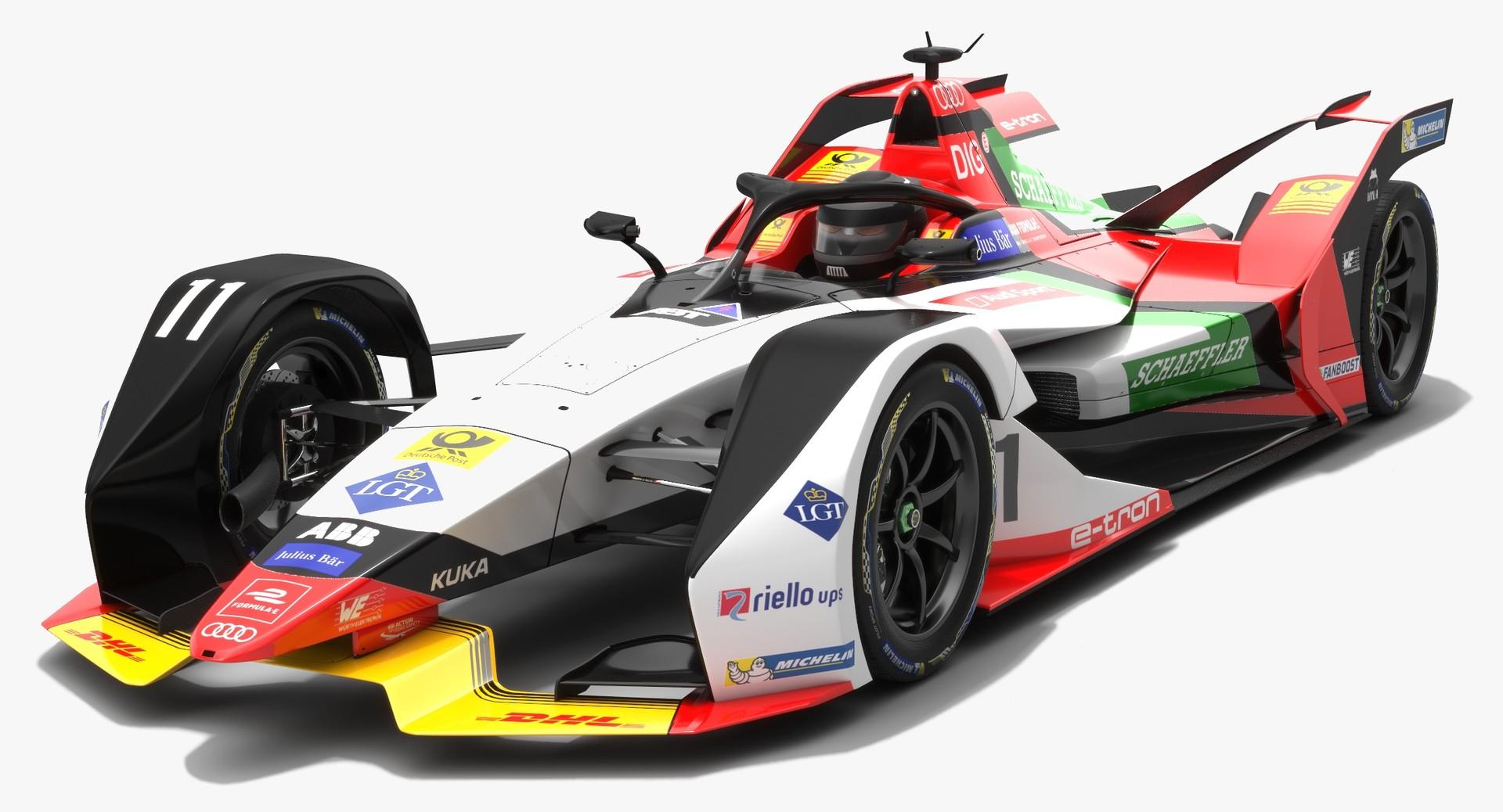 ArtStation - Audi Sport ABT Schaeffler Formula E Team Season