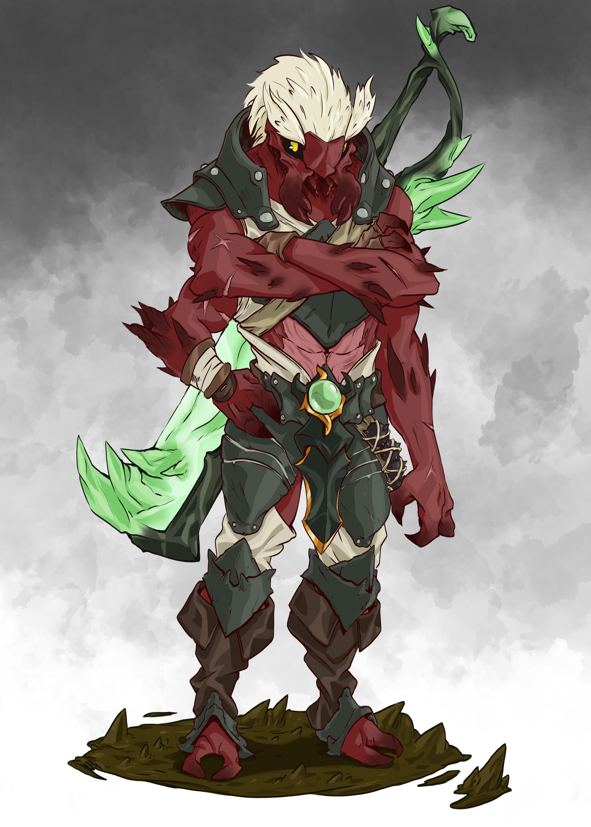 Présentation Kazeda ! Alize-giraud-insect-warrior-min