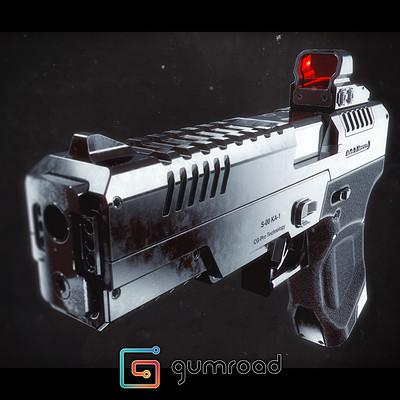 Ljabli salim gun render 02