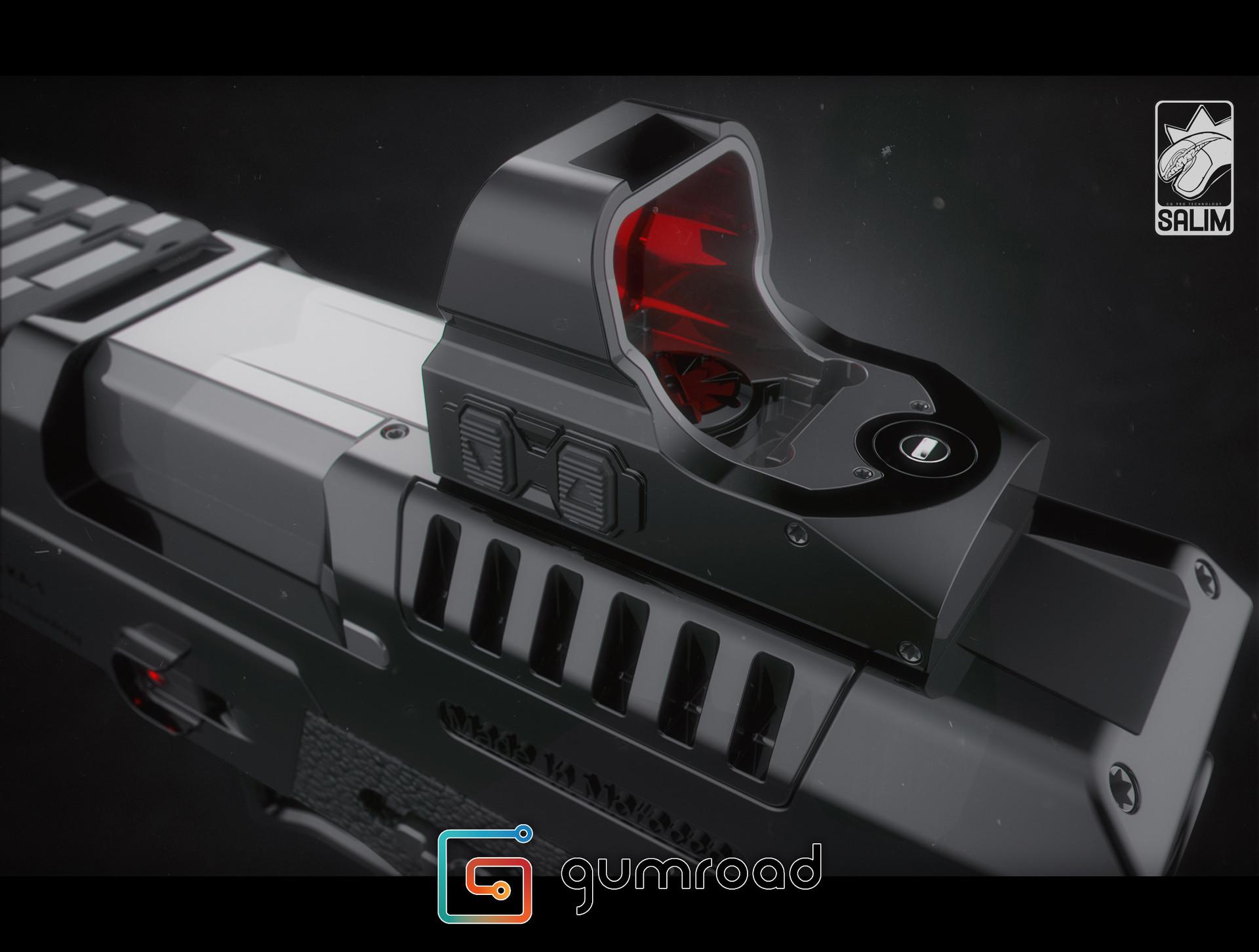 Ljabli salim gun render 05