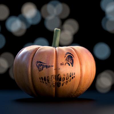 Happy Halloween! CGI PUMPKIN