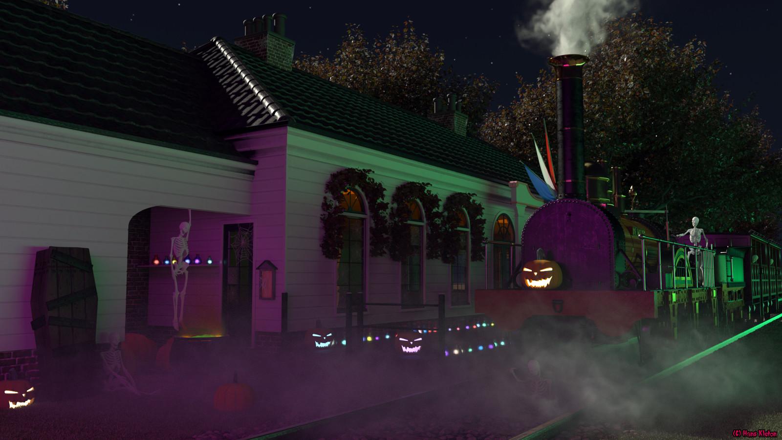 Halloween 2018 at D'eenhonderd Roe