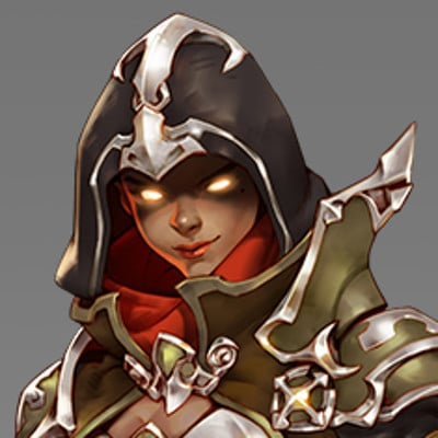 Ben zhang demon hunter sombra