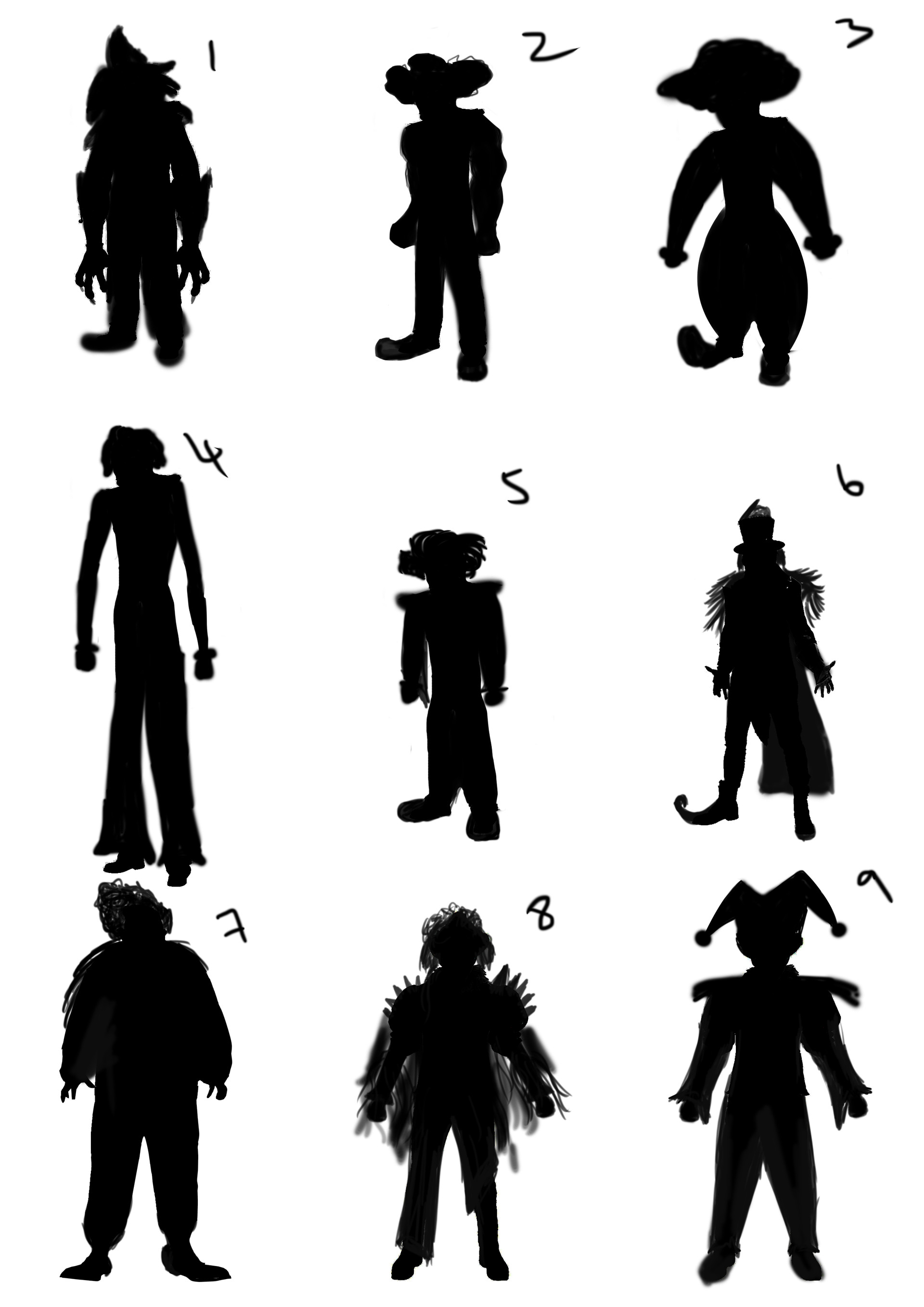 silhouette tryout