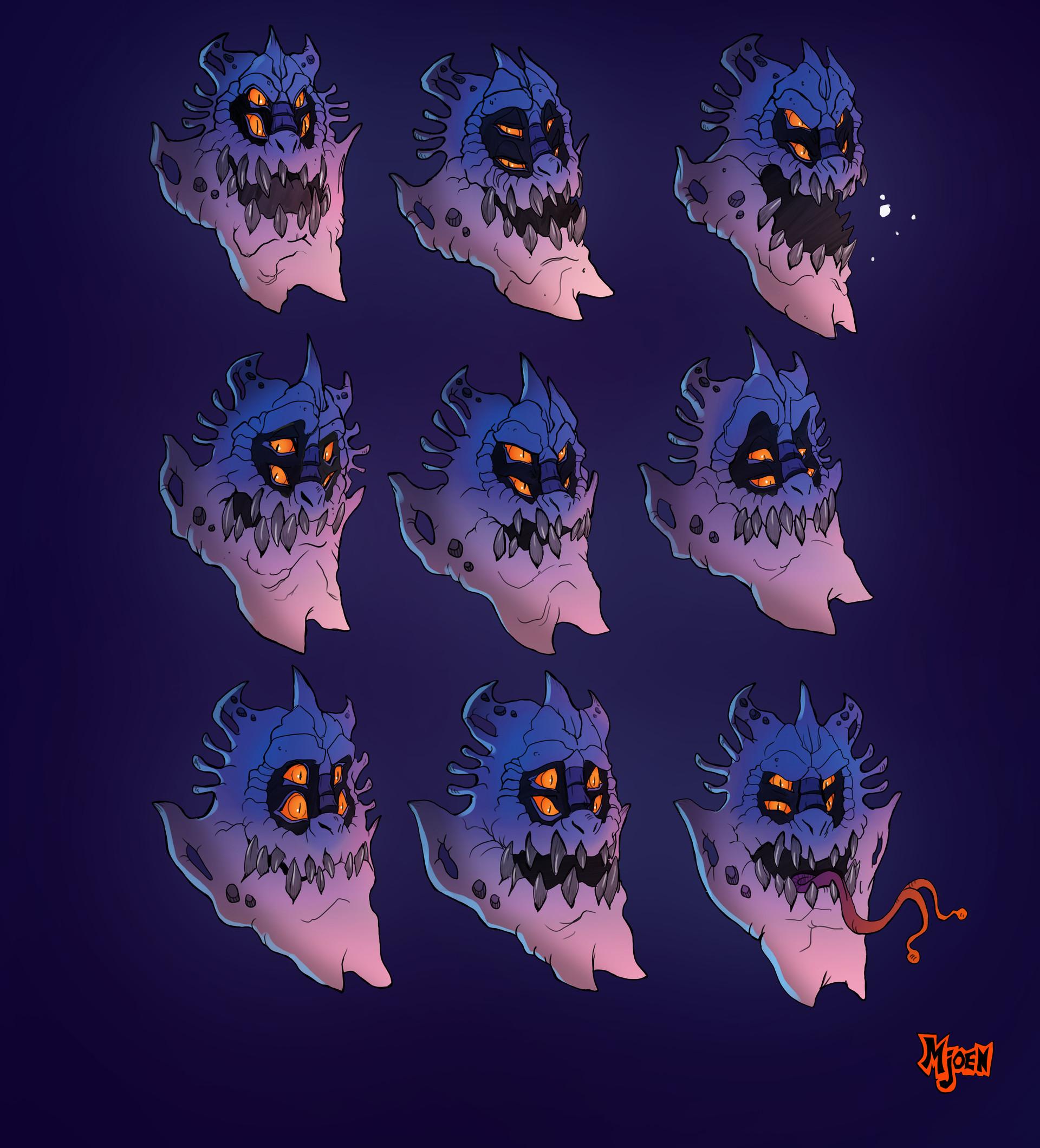Kyle mjoen alien gangster facial expressions