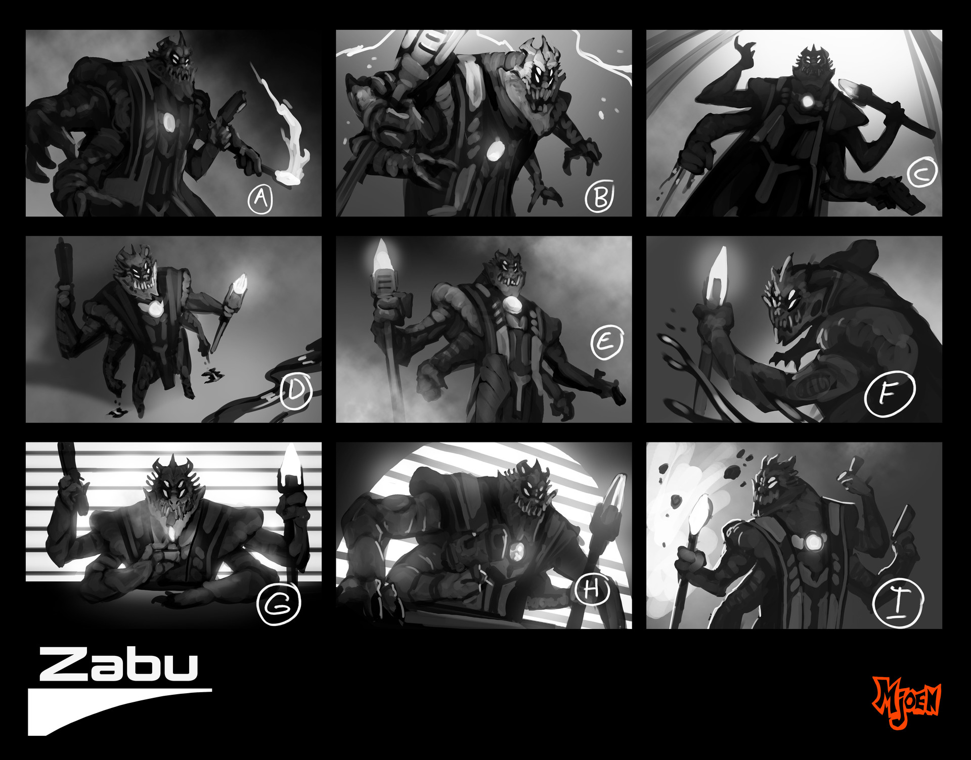 Kyle mjoen alien gangster splash thumbnails