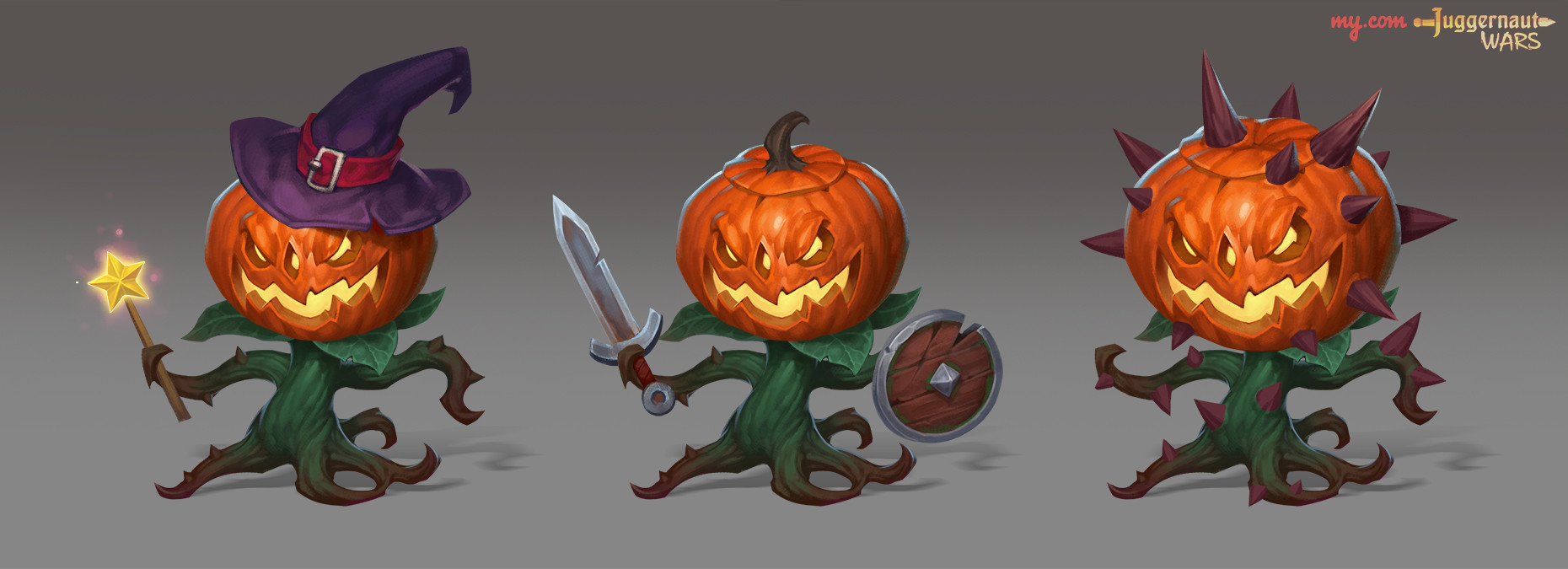 Alexander bocharov minions pumpkins logo